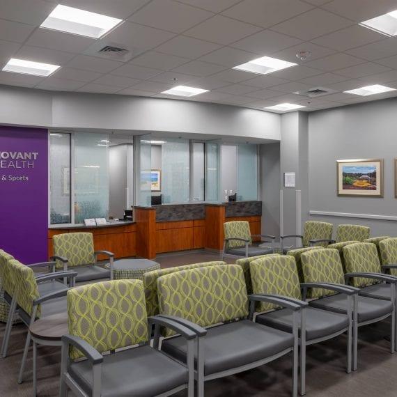 Novant Health - Reception Area