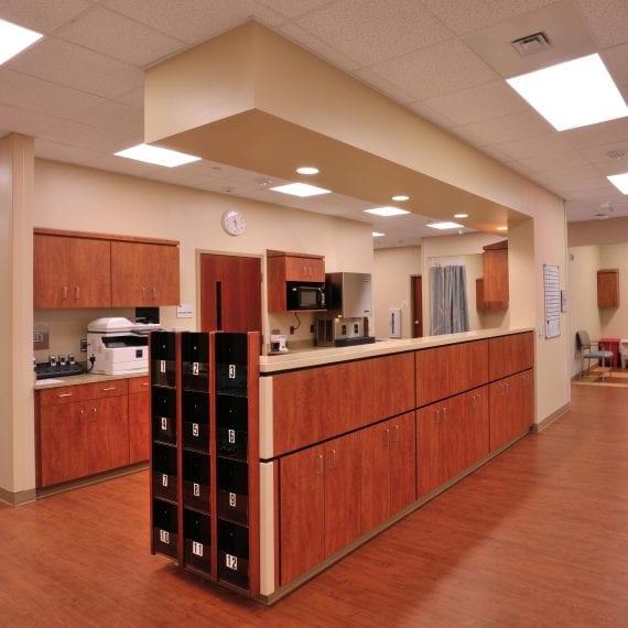 OCSC Interior Composite Reception