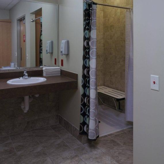 POSC Composite Washroom Area Interior