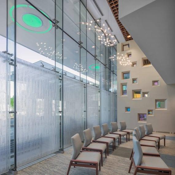 Levine Cancer Institute II - Sitting Area